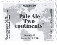 Pale Ale Two continents