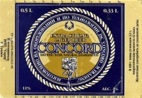 Concord Extra Strong Lager Bitter