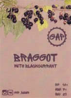 Braggot with Blackcurrant